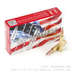20 Rounds of .300 Win Mag Ammo by Hornady - 150gr SP