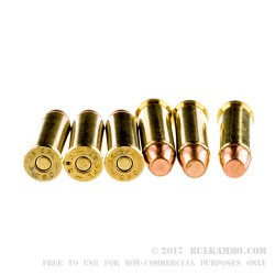 50 Rounds of .38 Spl Ammo by Magtech - 125gr FMJ Flat