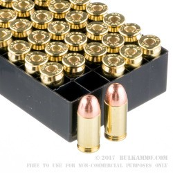 1000 Rounds of .45 ACP Ammo by Fiocchi - 230gr FMJ