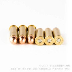 50 Rounds of .38 Spl Ammo by Federal American Eagle - 130gr FMJ