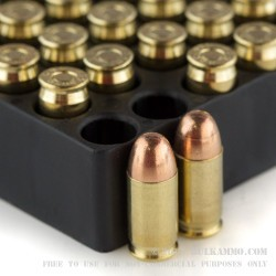 50 Rounds of .380 ACP Ammo by Magtech - 95gr FEB