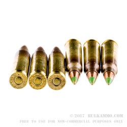 20 Rounds of 5.56x45 Ammo by Federal American Eagle - 62gr FMJ