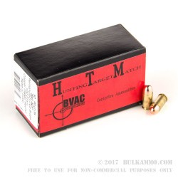 1000 Rounds of .380 ACP Ammo by BVAC - 100gr CPRN