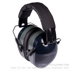 Champion Earmuffs - Black - 1 Set