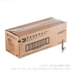 500  Rounds of 5.56x45 Ammo by Federal American Eagle - 50gr Frangible