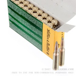 20 Rounds of 6.5x55mm SE Ammo by Sellier & Bellot - 131gr SP