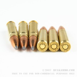 20 Rounds of .300 AAC Blackout Ammo by Jamison Ammunition - 150gr SBT