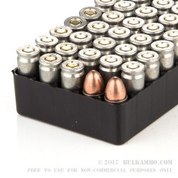 50 Rounds of 9mm Ammo by Silver Bear - 115gr FMJ