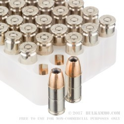 1000 Rounds of 9mm Ammo by Federal LE Hydra Shok - 147gr JHP