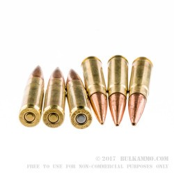 20 Rounds of .300 AAC Blackout Ammo by Remington - 220gr Open Tip