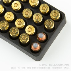 20 Rounds of .40 S&W Ammo by Glaser - 135gr PowR Ball
