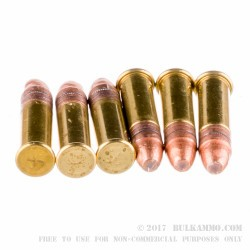 50 Rounds of .22 LR Ammo by Fiocchi - 38gr CPHP