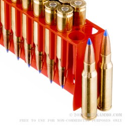 20 Rounds of .308 Win Lead Free Ammo by Fiocchi - Barnes 168gr TTSX
