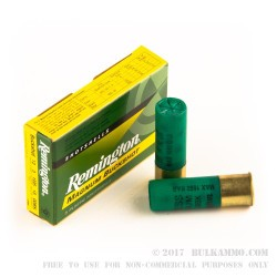 "250 Rounds of 12ga 3"" Magnum Ammo by Remington -  00 Buck"