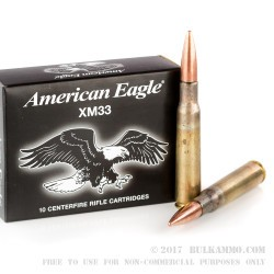 10 Rounds of .50 BMG Ammo by Federal American Eagle - 660 gr FMJ