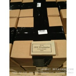 1060 Rounds of .308 Win Mil Surplus Ammo by Sellier & Bellot - 147gr FMJ