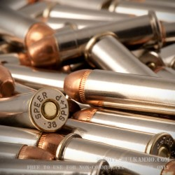 1000 Rounds of .38 Spl Ammo by MBI - 125gr FMJ