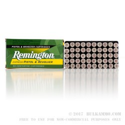 50 Rounds of .357 Mag Ammo by Remington - 125gr SJHP