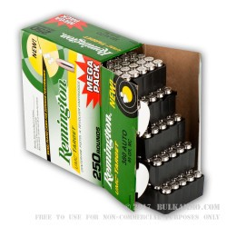 1000 Rounds of .380 ACP Nickel Plated Ammo by Remington - 95gr MC