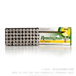 50 Rounds of .45 ACP Nickel Ammo by Remington - 230gr MC