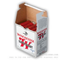 250 Rounds of 12ga Ammo by Winchester - 1 1/8 ounce #7 1/2 High Velocity shot