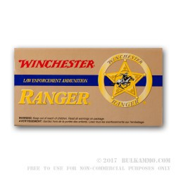 50 Rounds of .357 SIG Ammo by Winchester - 125gr JHP
