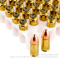 1000 Rounds of 9mm Ammo by Speer - 124gr TMJ