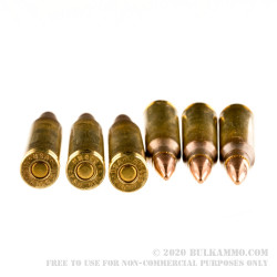500 Rounds of 5.56x45 Ammo by Winchester - 55gr FMJ