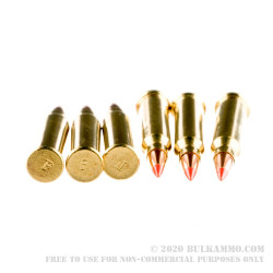 50 Rounds of .17 WSM Ammo by Federal - 20gr Polymer Tip