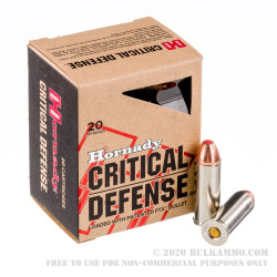 20 Rounds of .45 Long-Colt Ammo by Hornady - 185gr JHP