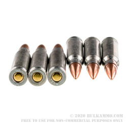 20 Rounds of .308 Win Ammo by Silver Bear - 145gr FMJ