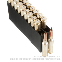200 Rounds of 6.5 Creedmoor Ammo by Hornady Precision Hunter - 143gr ELD-X