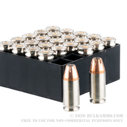 25 Rounds of 9mm Ammo by Fiocchi - 124gr JHP