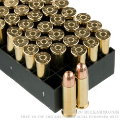 900 Rounds of .38 Spl Ammo by PMC - 132gr FMJ