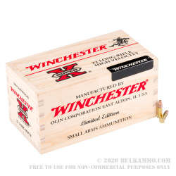 3000 Rounds of .22 LR Ammo by Winchester - 36gr CPHP HV in Wooden Boxes