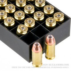 200 Rounds of .40 S&W Ammo by Hornady - 155gr JHP