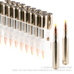 20 Rounds of .270 Win Ammo by Federal - 130gr Nosler Ballistic Tip
