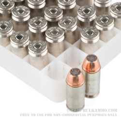 50 Rounds of .40 S&W Ammo by Speer LE Gold Dot G2 - 180gr JHP