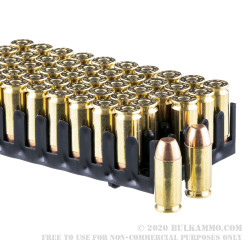 50 Rounds of .40 S&W Ammo by Magtech - 165gr FMJ FN