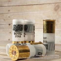 5 Rounds of 12ga Ammo by Rio - 1 ounce Rifled Slug