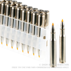 20 Rounds of 30-06 Springfield Ammo by Federal Vital-Shok - 180gr Trophy Bonded Tip