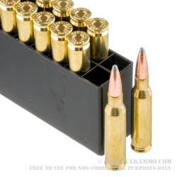 200 Rounds of 7mm-08 Ammo by Hornady - 139gr SP
