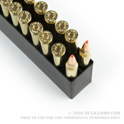 20 Rounds of .300 Win Mag Ammo by Hornady - 165gr GMX