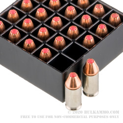 250 Rounds of .380 ACP Ammo by Hornady Critical Defense - 90gr JHP