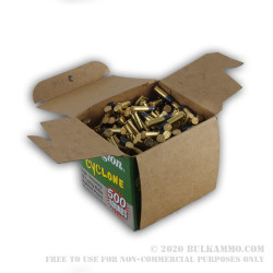 500  Rounds of .22 LR Cyclone Ammo by Remington - 36gr LHP