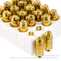 20 Rounds of .40 S&W Ammo by Magtech - 180gr JHP