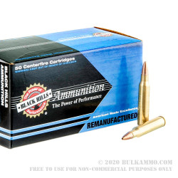50 Rounds of .223 Ammo by Black Hills Ammunition Remanufactured - 36gr HP