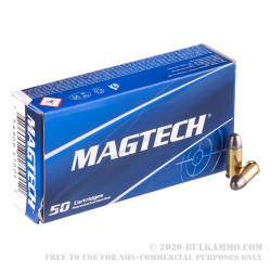 50 Rounds of .32 ACP Ammo by Magtech - 71gr LRN