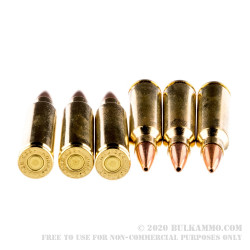 200 Rounds of .223 Ammo by Hornady Superformance - 75gr HPBT