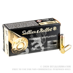 600 Rounds of .44 Mag Ammo by Sellier & Bellot - 240gr SP